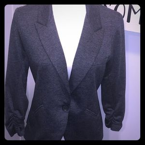 Gibson Gray Classic Work Wear Blazer Jacket Medium